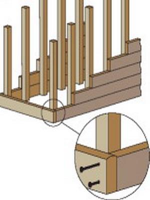 Как установить деревянную лестницу: монтаж и ремонт, изготовление и закрепление столба на втором этаже, видео как своими руками