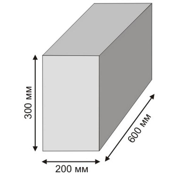 газопеноблоки цена 20х30х60